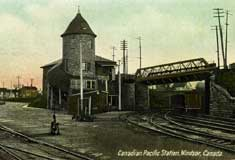 Canadian Pacific Railway station � courtesy of K. Knight