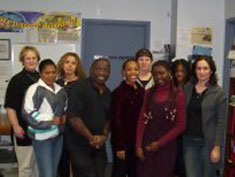 Staff of The Youth Connection Association Inc. of Windsor � Photo Courtesy of the Y.C.A 2005