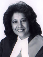 Hon. Madame Justice Micheline A. Rawlins, photo courtesy                     of M.A.Rawlins