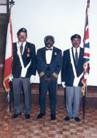 LCOL Jacobs honoured at Emancipation Gala 2004 - photo courtesy of Jim Allen