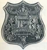No. 2 Construction Battalion badge