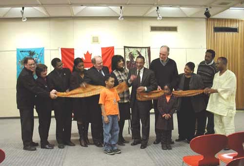 Black History Month Ribbon Cutting Ceremony