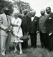 Ground Breaking Ceremony for the new BME Church � photo courtesy of The Windsor Star 3/06/1963