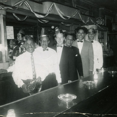 The Frontier Social Club, New Year's Eve 1958, Photos Courtesy of Mr. George Thomas