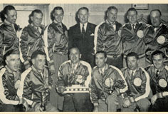 Police Hockey Champs 1952-53, photo courtesy of Windsor Public Library 1-73