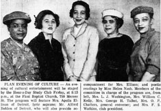 Hour-A-Day Study Club members plan a cultural evening, Windsor Star 25/03/1957