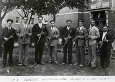 P10790 - Clarinet  players from the 1st Caboto Club band, 1930