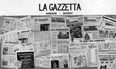 P10821 � La Gazzetta collage. Courtesy of Rita Bison