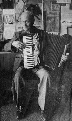 P11230 - Pat Ciccone, the Accordion Master. Courtesy of Teresa Ciccone.